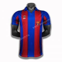 90 Retro Version Barcelona Home Red & Blue Thailand Soccer Jersey AAA-C1046