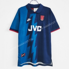 1995 Retro Version Arsenal Away Blue Thailand Soccer Jersey AAA-C1046