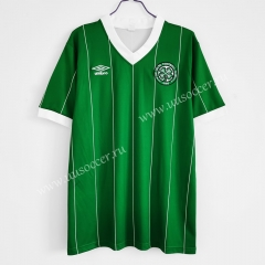 1984-86 Retro Version Celtic 2nd Away Green Thailand Soccer Jersey AAA-C1046