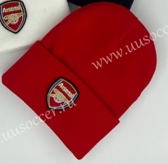 Arsenal Soccer Red Hat