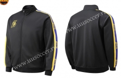 NBA Los Angeles Lakers Black Jacket Top-SJ