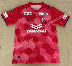 2021-2022 Cerezo Osaka Home Red & Pink Thailand Soccer jersey AAA-417