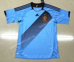 2012 Retro Spain Away Blue Thailand Soccer Jersey AAA-HR
