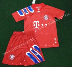 2020-2021 Joint Edition Bayern München Red Soccer Uniform-SKE