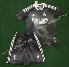 2020-2021 Joint Edition Real Madrid Black Soccer Uniform-SKE