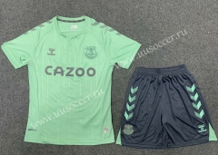 2020-2021 Everton 2nd Away Green Soccer Uniform-GB