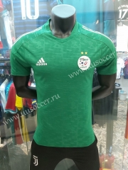 Player Version 2020-2021 Algeria Away Green Thailand Soccer Jersey AAA