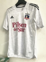 2021-2022 Colo Colo Home White Thailand Soccer Jersey AAA-7T