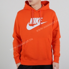 2020-2021 New Season Orange Thailand Soccer Tracksuit With Hat