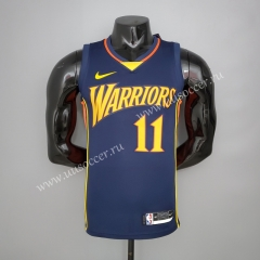2020-2021 New Show Golden State Warriors Blue #11 Jersey-311