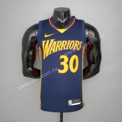 2020-2021 New Show Golden State Warriors Blue #30 Jersey-311