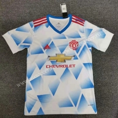 Concept Edition 2020-2021 Manchester United Blue& White Thailand Soccer Jersey AAA