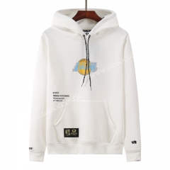NBA Los Angeles Lakers White Tracksuit Top With Hat-LH
