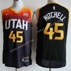 2020-2021 City Version NBA Utah Jazz Black #45 Jersey
