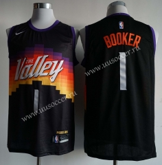 2020-2021 City Versiob NBA Phoenix Suns Black #1 Jersey