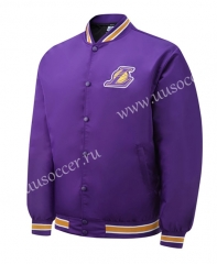 NBA Los Angeles Lakers Purple Jacket Top-SJ