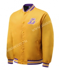 NBA Los Angeles Lakers Yellow Jacket Top-SJ