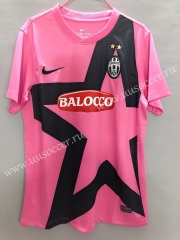 2011-2012 Retro Version Juventus Red & Pink Thailand Soccer Jersey AAA-811