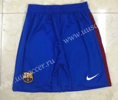 2021-2022 Barcelona Home Blue Thailand Training Soccer Shorts