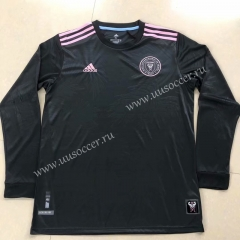 2021-2022 Inter Miami CF Black LS Thailand Soccer Jersey AAA-HR