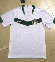 2006 Retro Version Mexico Away White Thailand Soccer Jersey AAA-HR