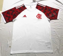 2021-2022 CR Flamengo White Thailand Soccer Training Jersey-711