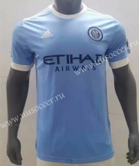 2021-2022 New York City Home Blue Thailand Soccer jersey AAA-416