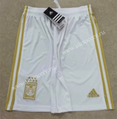 2021-2022 Tigres UANL 2nd Away White Thailand Soccer Shorts