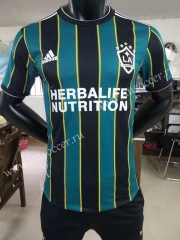 Player Version 2021-2022 Los Angeles Galaxy Away Green & Black Thailand Soccer Jersey AAA