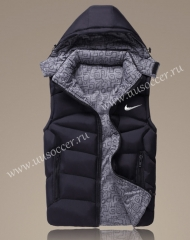 2022 Nike Black Double-sided Cotton Vest With Hat-GDP