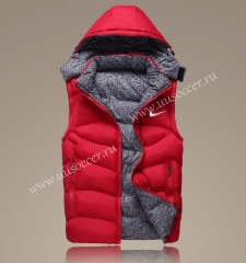 2022 Nike Red Double-sided Cotton Vest With Hat-GDP