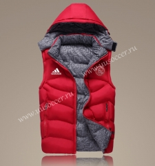 2022 Addi Red Double-sided Cotton Vest With Hat-GDP