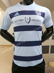Player Version 2020-2021 Sporting Kansas City Home White Thailand Soccer Jersey AAA