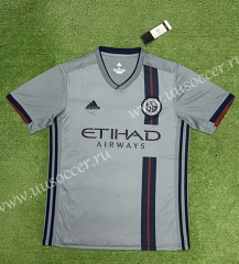 Special Version 2021-2022 New York City Gray Thailand Soccer jersey AAA