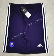 2021-22  Orlando City Home Purple Thailand Soccer Shorts
