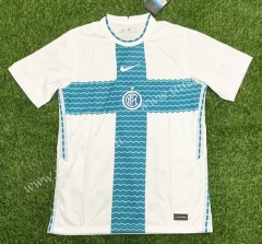 2021-2022 Inter Milan Away White Thailand Soccer Jersey AAA