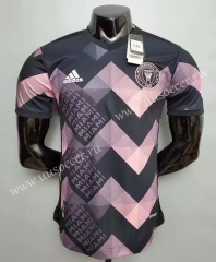 Special Version 2020-2021 Inter Miami CF Black & Pink Thailand Soccer Jersey AAA