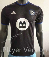 Player Version 2021-2022 Montreal Impact Black Thailand Soccer Jersey AAA