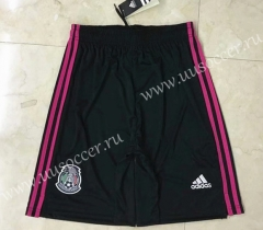 2021-22 Mexico Home Black Thailand Soccer Shorts