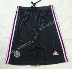 2021-22 New York City  Home Black Thailand Soccer Shorts