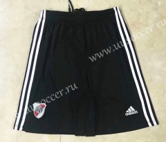 2021-22 River Plate Home Black Thailand Soccer Shorts