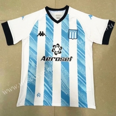 2021-22 Racing Club de Avellaneda Home Blue & White Thailand Soccer Jersey-818