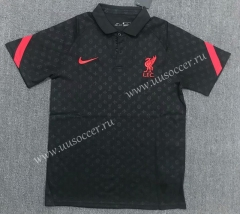 2021-22 Liverpool Black Polo Shirts-803
