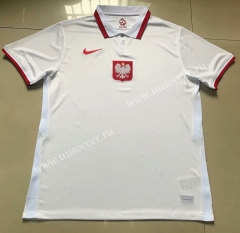 2021-22 Poland Home White Thailand Soccer Jersey-803
