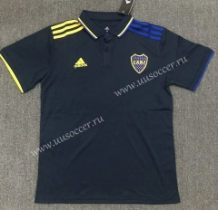 2021-22 BOCA Juniors Royal Blue Thailand Polo Shirts-803