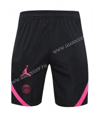 2021-22 Paris SG Black Thailand Soccer Shorts-418
