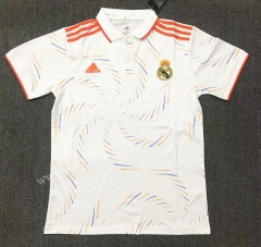 2021-22 Real Madrid Royal Blue Thailand Polo Shirts-803
