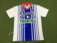 92-93 Retro Version Paris SG  Blue & White Thailand Soccer Jersey AAA