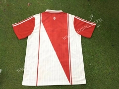 96-97 Retro version Monaco Home Red & White Thailand Soccer Jersey AAA
