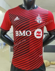 Player Version 2021-2022 Toronto FC Home Red Thailand Soccer Jersey AAA